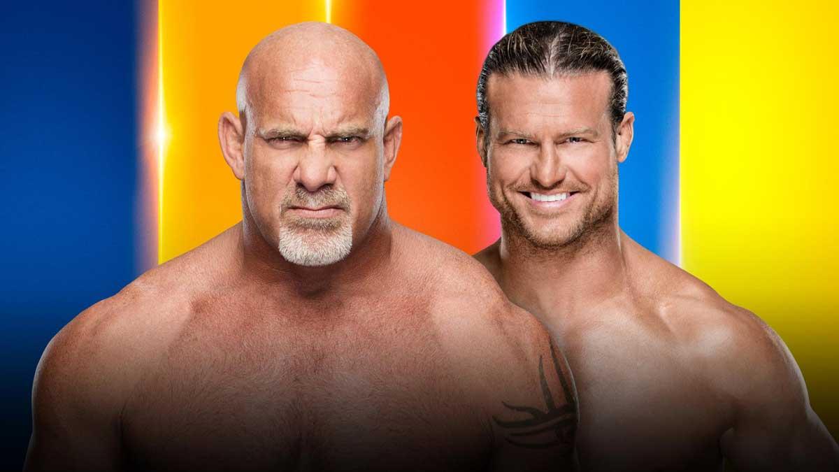 Goldberg vs Dolph Ziggler WWE SummerSlam 2019