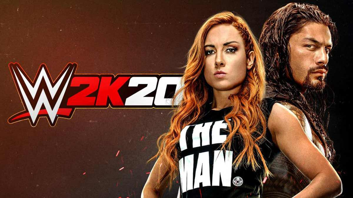 WWE 2K20 features Becky Lynch and Roman Reigns