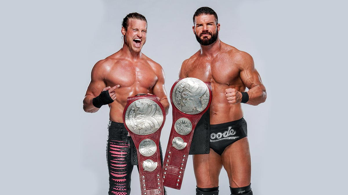 Dolph Ziggler & Robert Roode WWE Raw Tag Team Champions