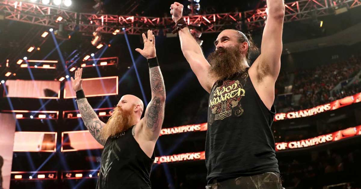 Luke Harper Returns To Reunite With Erick Rowan At Clash Of Champions 2019