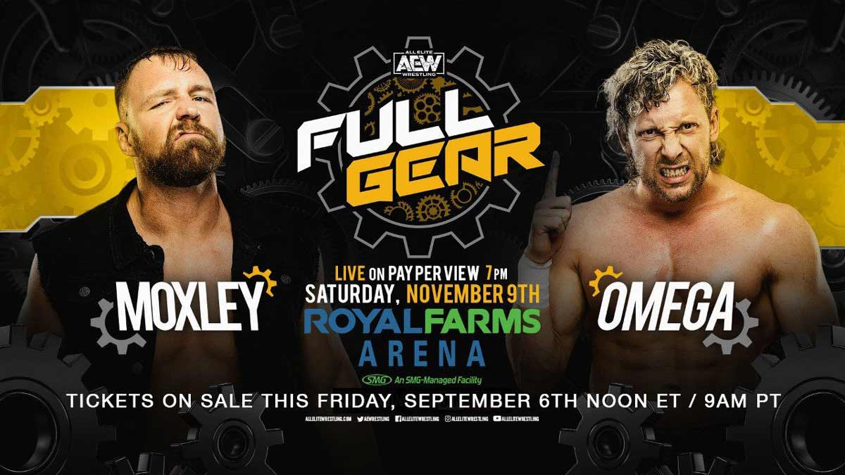 Kenny Omega vs Jon Moxley AEW Full Gear