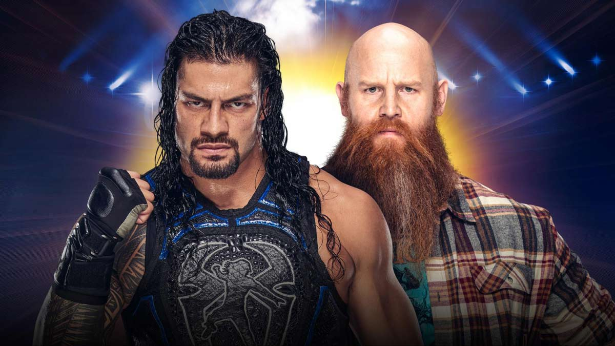 Roman Reigns vs Erick Rowan at WWE Clash of Champions 2019