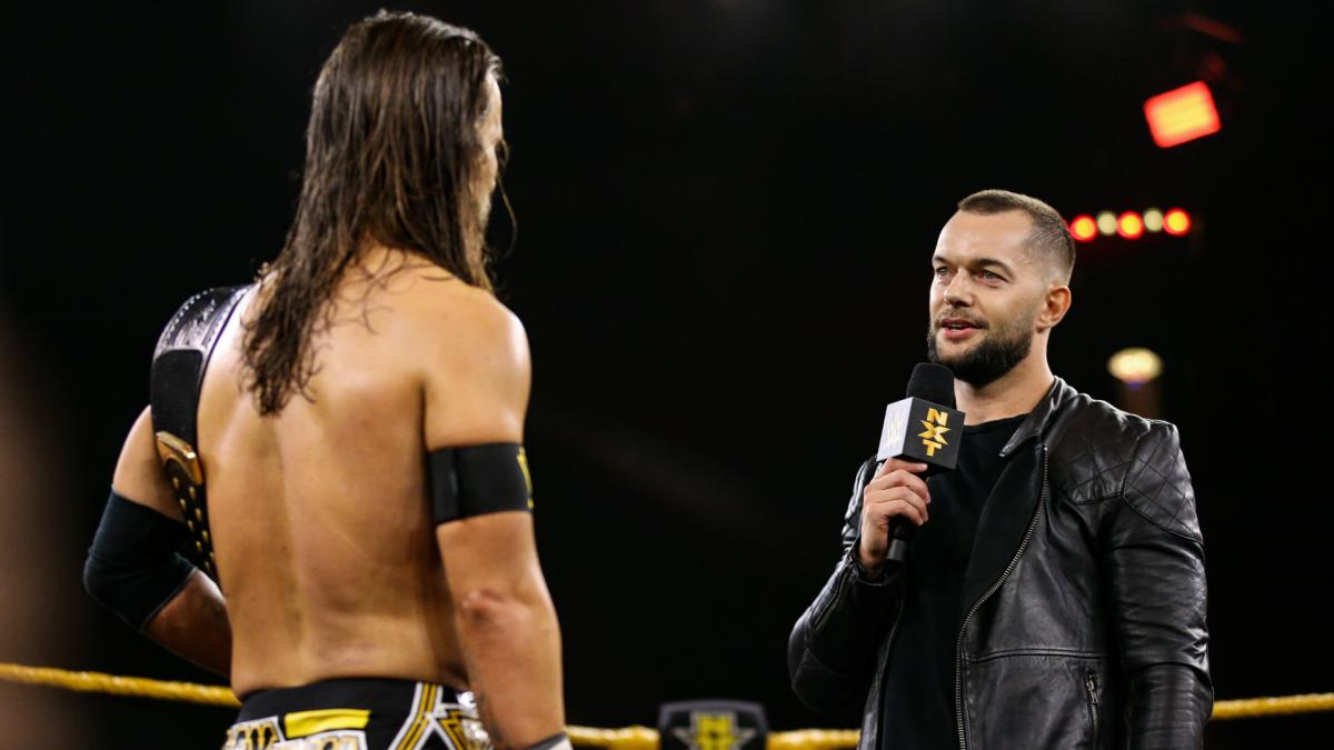 Finn Bálor returns to NXT and confronts Adam Cole