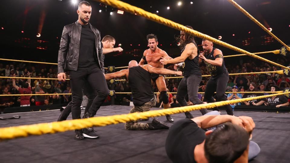 Finn Balor Turns Heel to Close This Week's WWE NXT, Joins The Undisputed Era?