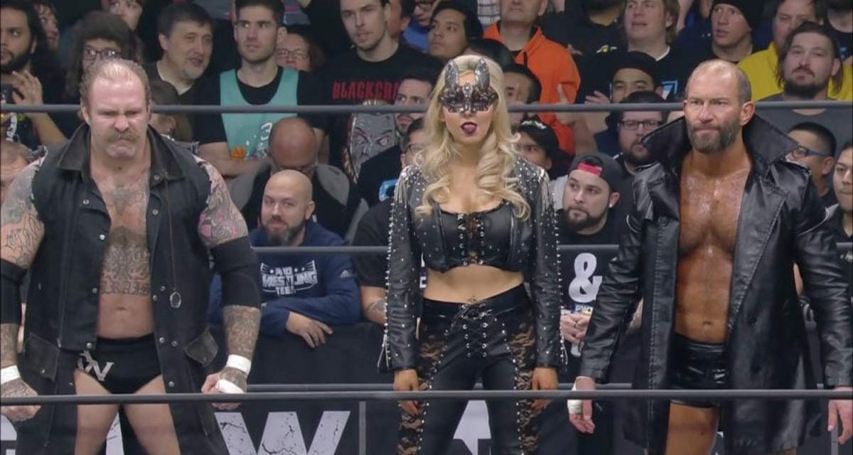 AEW Allie The Butcher and The Blade