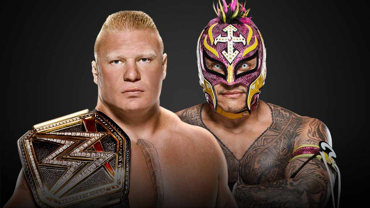 Rey Mysterio vs Brock Lesnar WWE Survivor Series 2019