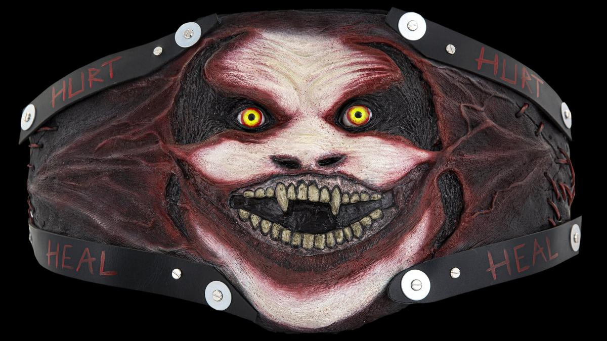 The Fiend Bray Wyatt's dark and twisted WWE Universal Title belt