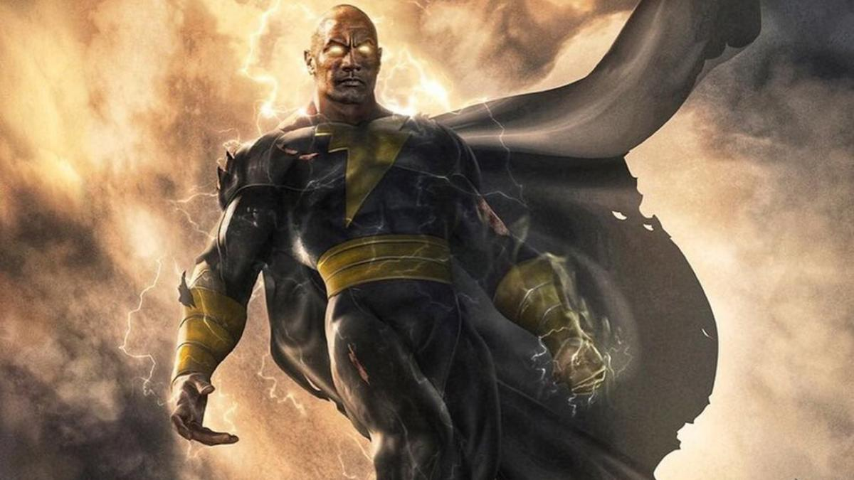 "The Rock Confirms ""Black Adam"""