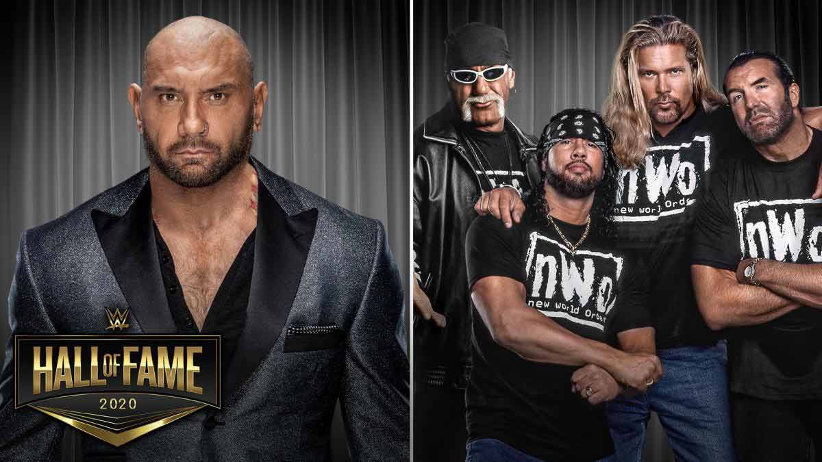 Batista and The nWo to be inducted into the WWE Hall of Fame's Class of 2020