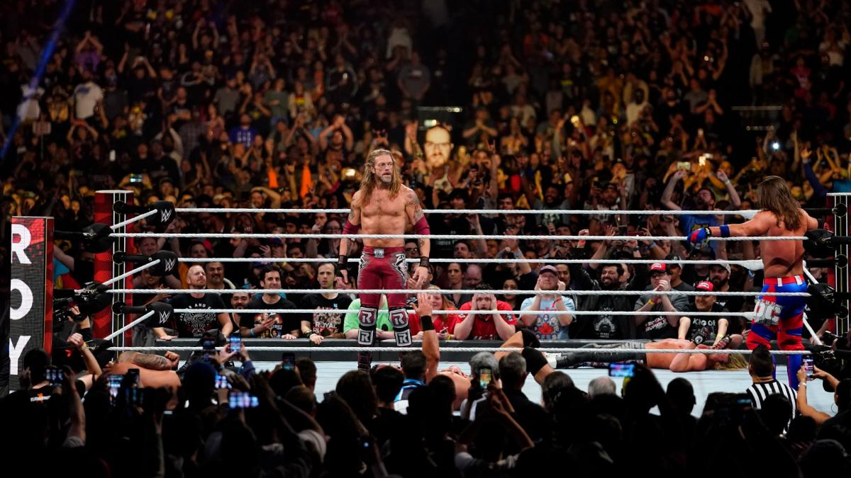 Edge Returns Royal Rumble 2020