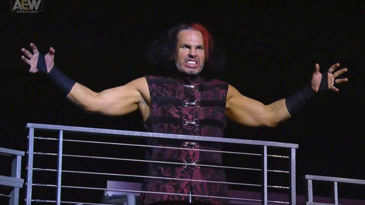 Matt Hardy Makes His AEW Debut