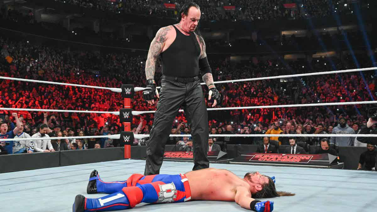 WWE Elimination Chamber 2020 Results The Undertaker returns