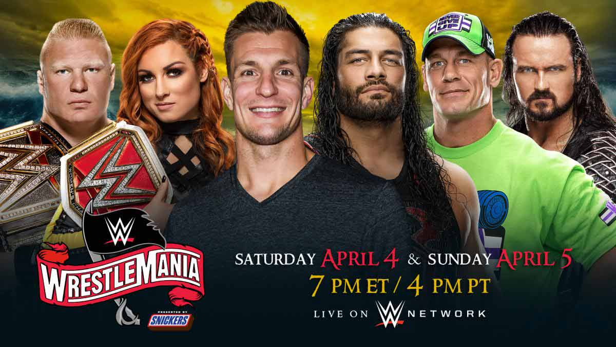 WrestleMania 36 is now set for a historic two-night presentation