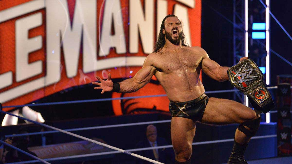 Drew McIntyre Wins the WWE Title at WrestleMania 36