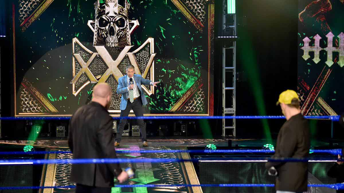 Triple H 25 Anniversary - Vince McMahon and Shawn Michaels