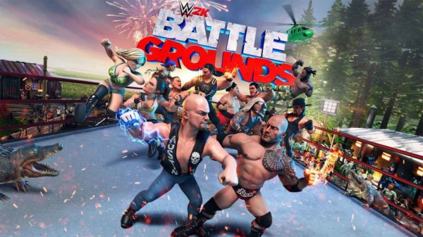 WWE 2K battleground