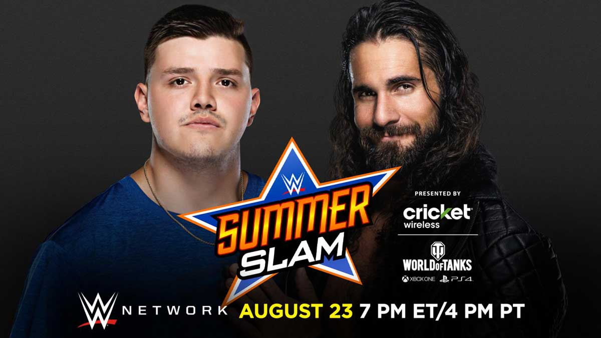 Dominik Mysterio Vs. Seth Rollins At WWE SummerSlam 2020