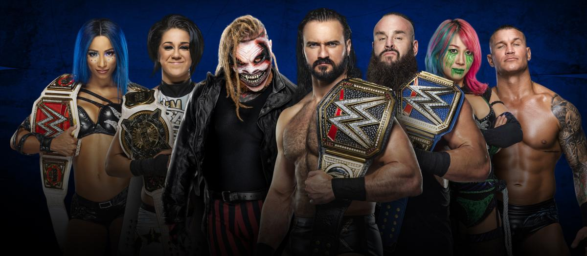 WWE SummerSlam 2020 Match Card