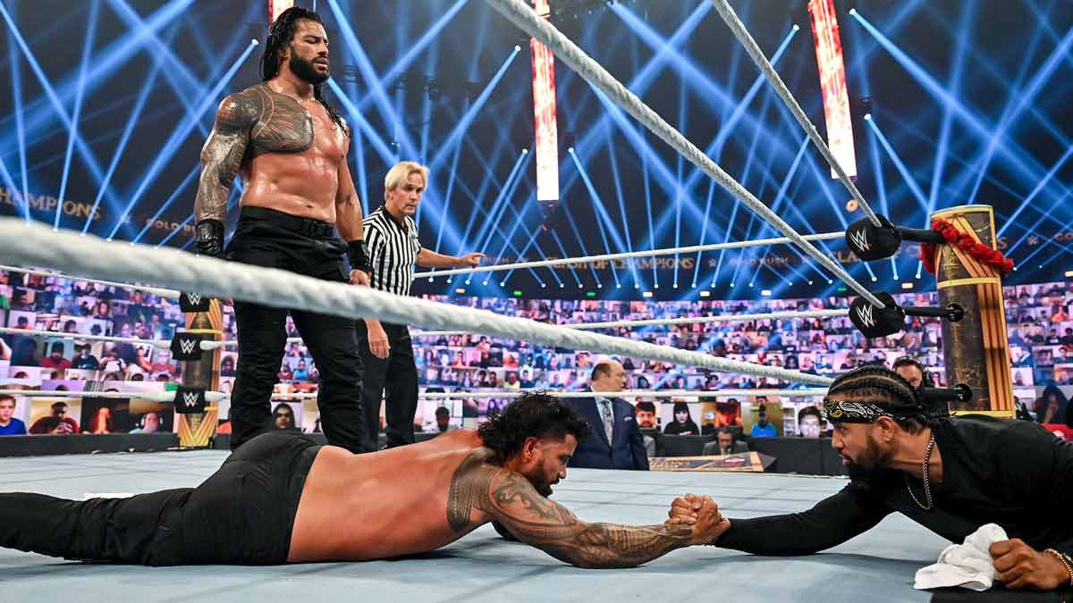 New In-Ring Look for Roman Reigns at WWE Clash of Champions 2020