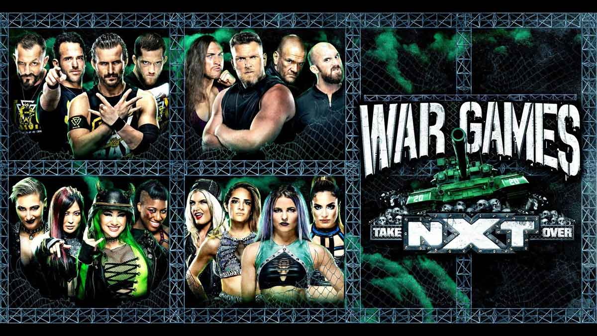 """WWE NXT """"Takeover: WarGames 2020"""" Results"""