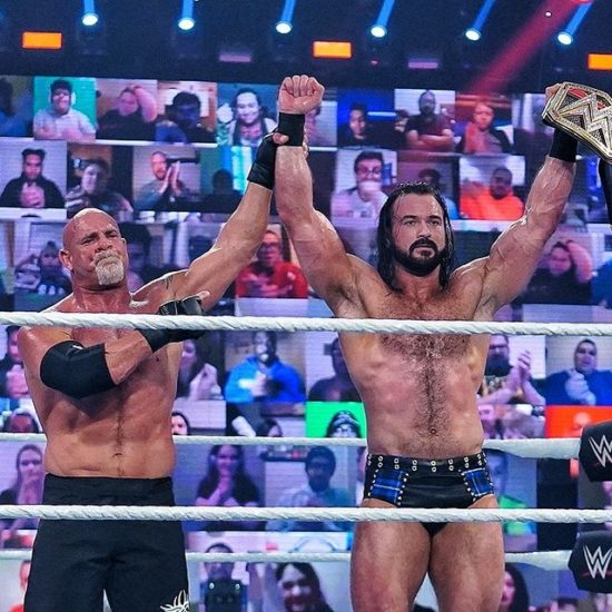 WWE Royal Rumble 2021 -- Drew McIntyre Defeated Goldberg