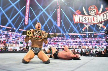 The Miz Wins WWE Championship after MITB cash-in at Elimination Chamber 2021