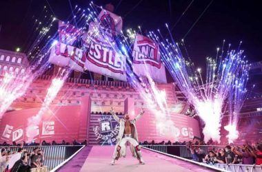 Edge WrestleMania 37 Entrance