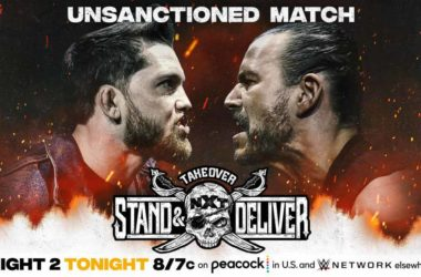WWE NXT Takeover-Stand-and-Deliver Kyle-O'Reilly-vs.-Adam-Cole-(Unsanctioned-Match)