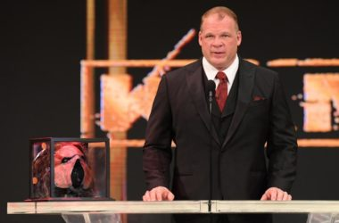 Kane gets inducted into the WWE Hall of Fame - Class of 2021