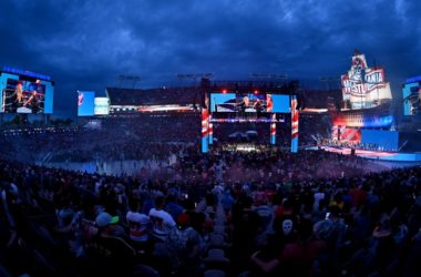 WWE WrestleMania 37 Stage and Crowd