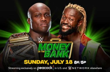 WWE Money in the Bank 2021 Match Card