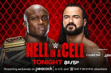 WWE Champion Bobby Lashley vs. Drew McIntyre (Hell in a Cell Match)