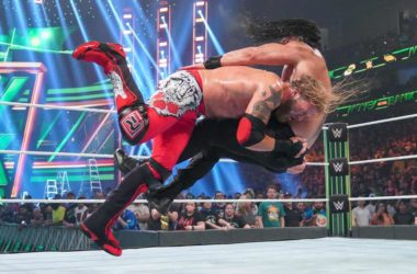 WWE Money In The Bank 2021 -- Roman Reigns Defeated Edge with the help of Seth Rollins